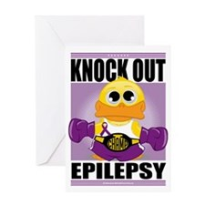 Knock-Out-Epilepsy Greeting Card