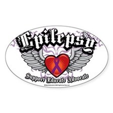 2-Epilepsy-Wings Decal