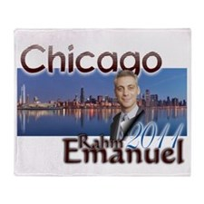 rahm emmanuel Throw Blanket