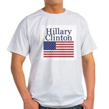 Hillary Clinton for President Ash Grey T-Shirt