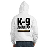 K-9 Dog Handler Hoodie Sheriff Law