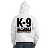K-9 Dog Handler Jumper Hoody Narcotics Drug