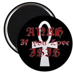 Ankh for Isis Magnet