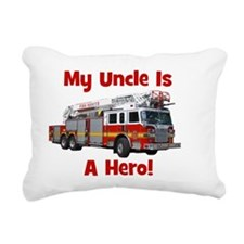 firetruck_isahero_uncle Rectangular Canvas Pillow
