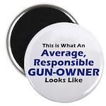 "Gun-Owner 2.25"" Magnet (100 pack)"