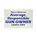 Gun-Owner Rectangle Magnet (100 pack)