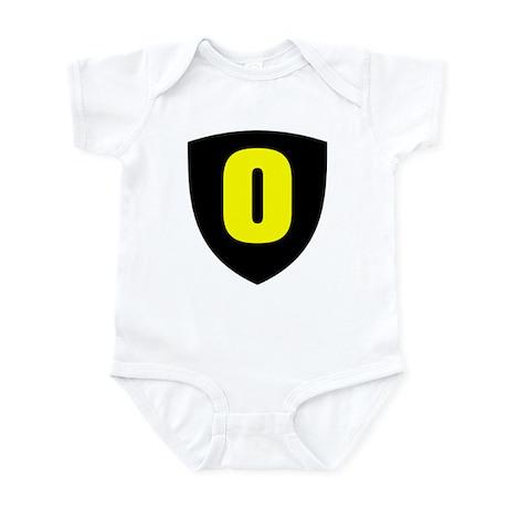 Number 0 Infant Bodysuit