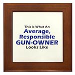 Gun-Owner Framed Tile