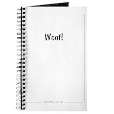 WoofASLstuffInside Journal