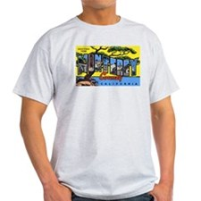 Monterey County California Ash Grey T-Shirt