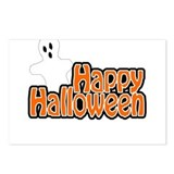 happy holloween Postcards (Package of 8)