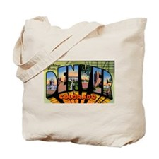 Denver Colorado Greetings Tote Bag