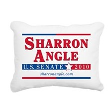 angle_yard_sign Rectangular Canvas Pillow