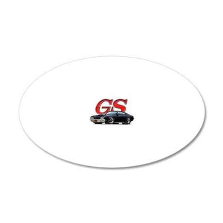BuickGS_black 20x12 Oval Wall Decal
