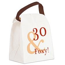 Foxy30 Canvas Lunch Bag