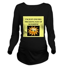 psycho joke gifts t-shirts Long Sleeve Maternity T