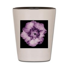 Hawiian Purple over black Shot Glass