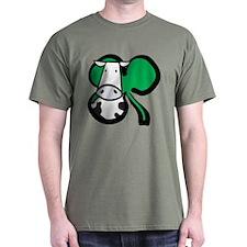 Irish Cow Shamrock T-Shirt