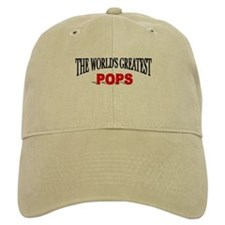 """The World's Greatest Pops"" Baseball Cap"
