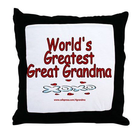 Great Grandma Throw Pillow