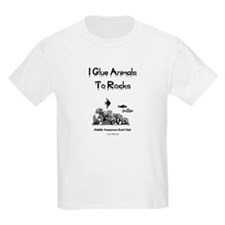 I Glue Animals To Rocks Kids T-Shirt