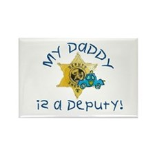 Cute Sheriffs office Rectangle Magnet