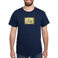 baby boomers novelty established 1954 T-Shirt