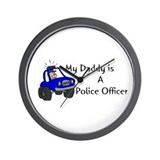 Cool Policekid Wall Clock