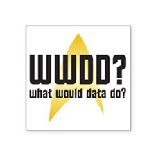 "wwdd-01 Square Sticker 3"" x 3"""