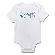 Trooper's Lil Girl Infant Creeper