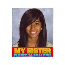 Rifqa Bary(small poster) Throw Blanket