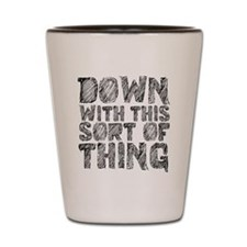 down Shot Glass