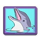 Purple Dolphin Mousepad