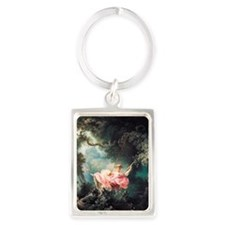 fragonard-swing_12x18 Portrait Keychain