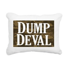 Dump Deval Rectangular Canvas Pillow