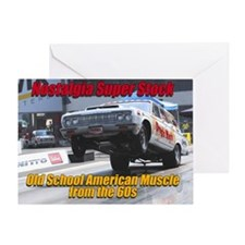 NSS-Wagon-Cover Greeting Card