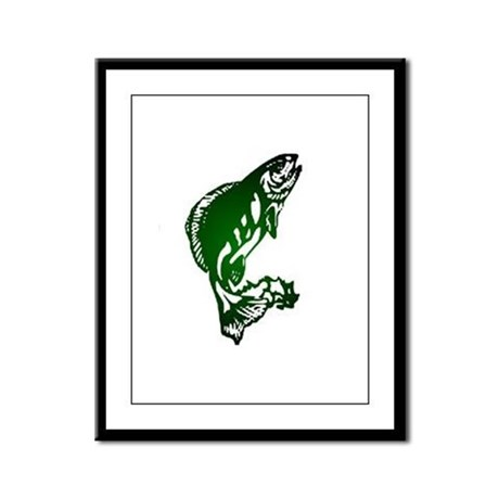 Fish Framed Panel Print