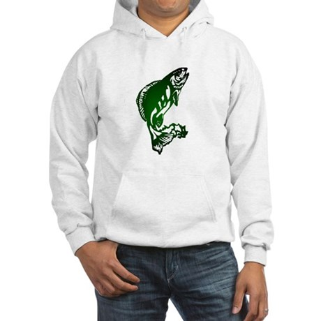 Fish Hooded Sweatshirt
