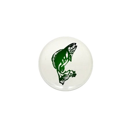 Fish Mini Button