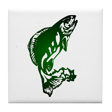Fish Tile Coaster