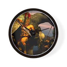 Spartans-11x11 Wall Clock