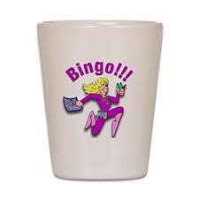 Bingo!!! Shot Glass