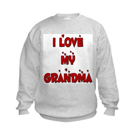 I Love My Grandma Kids Sweatshirt