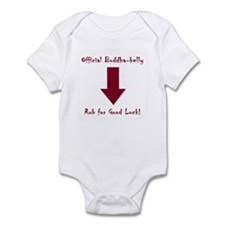 Buddha Belly Baby Infant Bodysuit