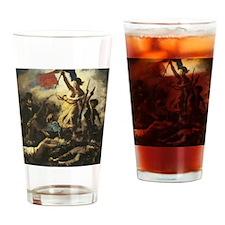 libertyLeadingthepeople Drinking Glass