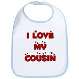 I Love My Cousin Bib