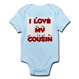 I Love My Cousin Infant Bodysuit