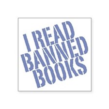 "banned2 Square Sticker 3"" x 3"""