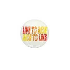 Live to Ride Mini Button (100 pack)
