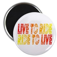 "Live to Ride 2.25"" Magnet (100 pack)"